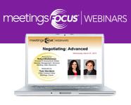 Meetings Focus  Webinars
